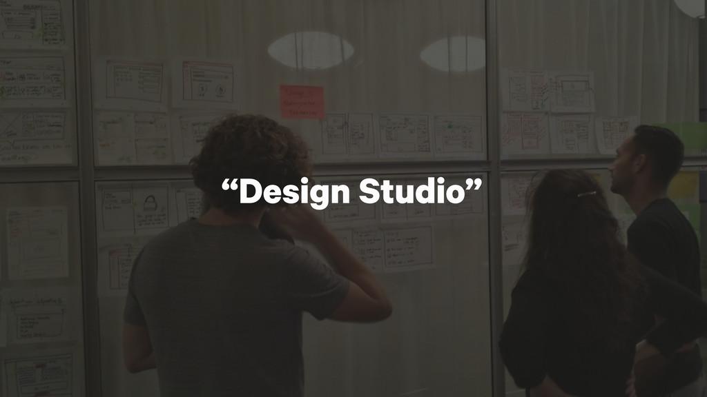 """""""Design Studio"""""""
