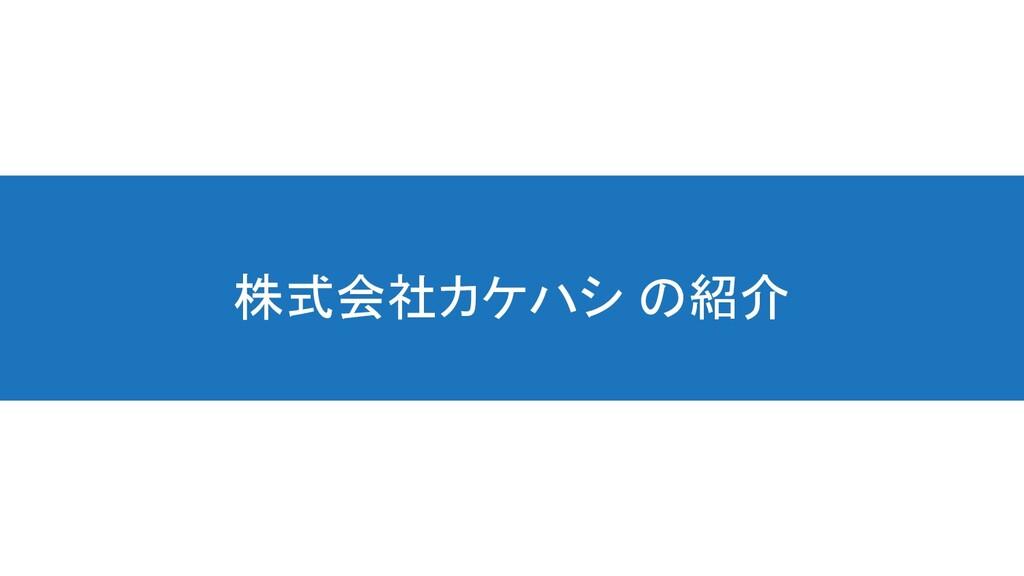 株式会社カケハシ の紹介