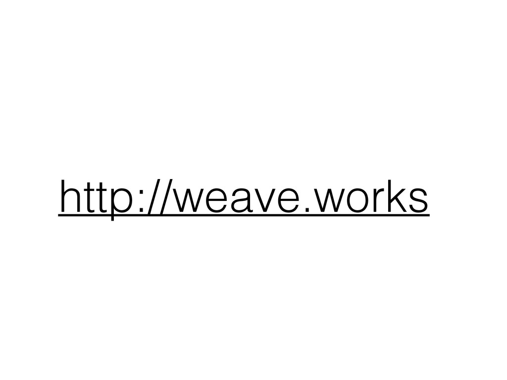 http://weave.works