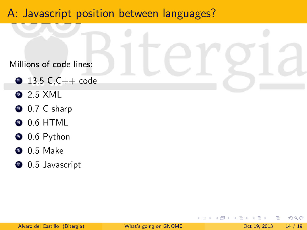 A: Javascript position between languages? Milli...