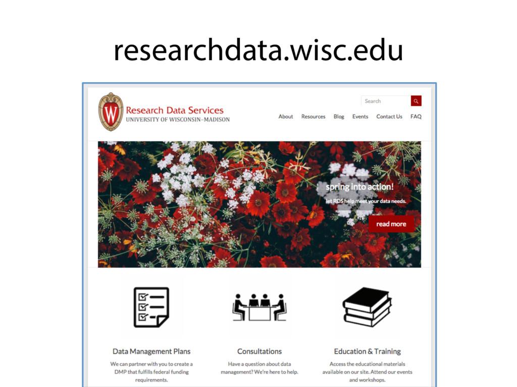 researchdata.wisc.edu