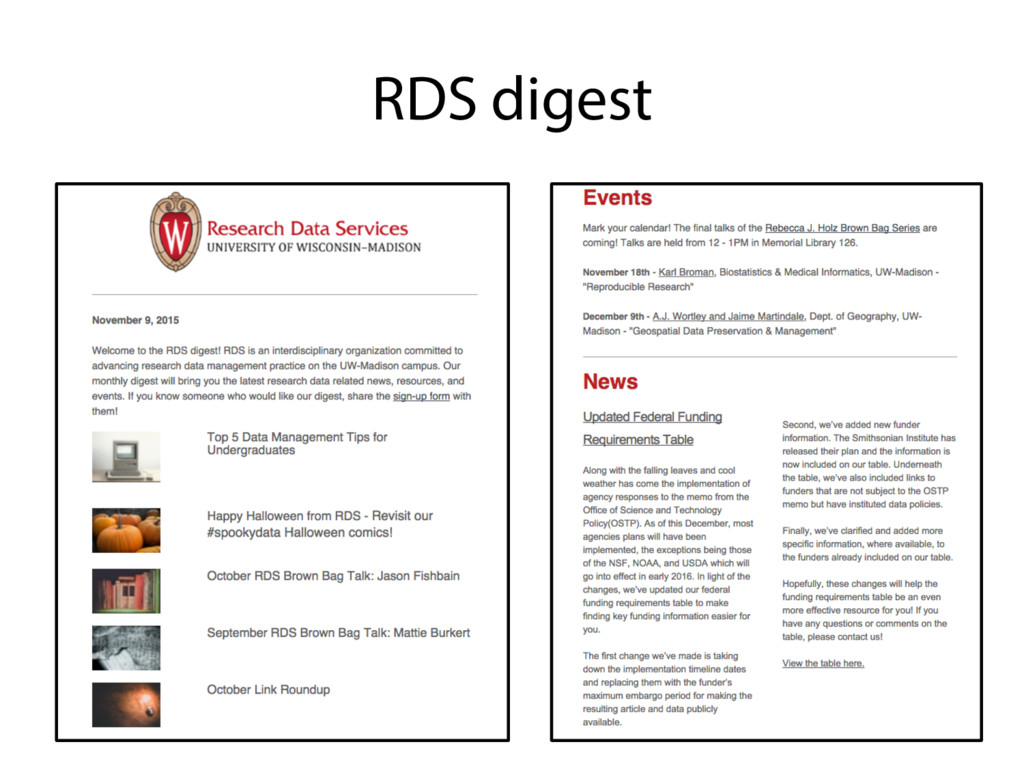 RDS digest