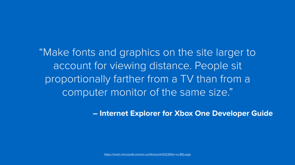 """Make fonts and graphics on the site larger to ..."