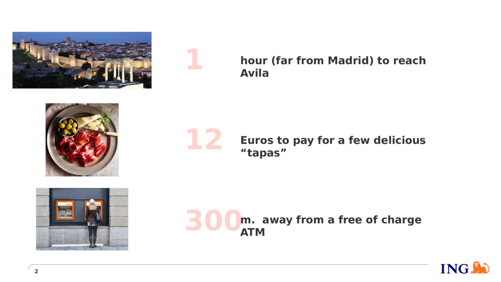 2 1 12 300 hour (far from Madrid) to reach Avil...