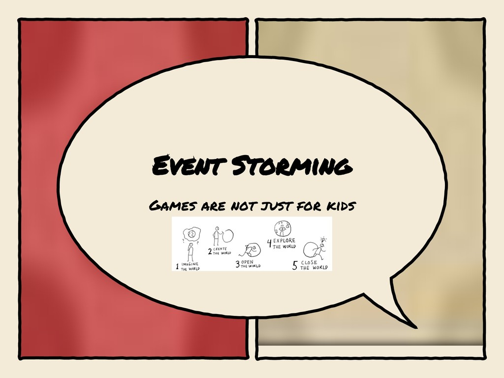Event Storming Games are not just for kids