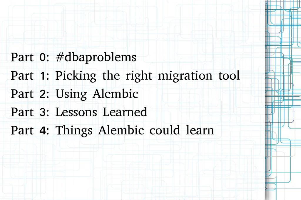 Part 0: #dbaproblems Part 1: Picking the right ...