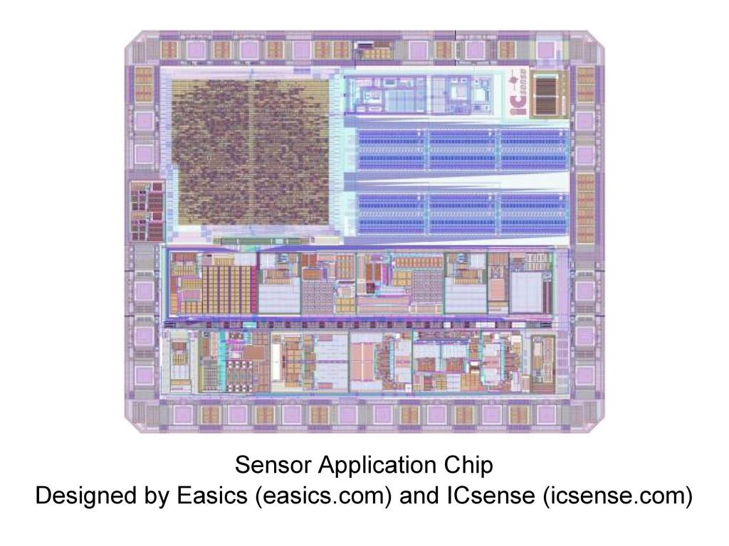 Sensor Application Chip Designed by Easics (eas...
