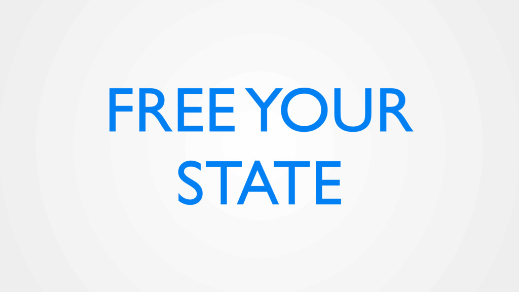FREE YOUR STATE