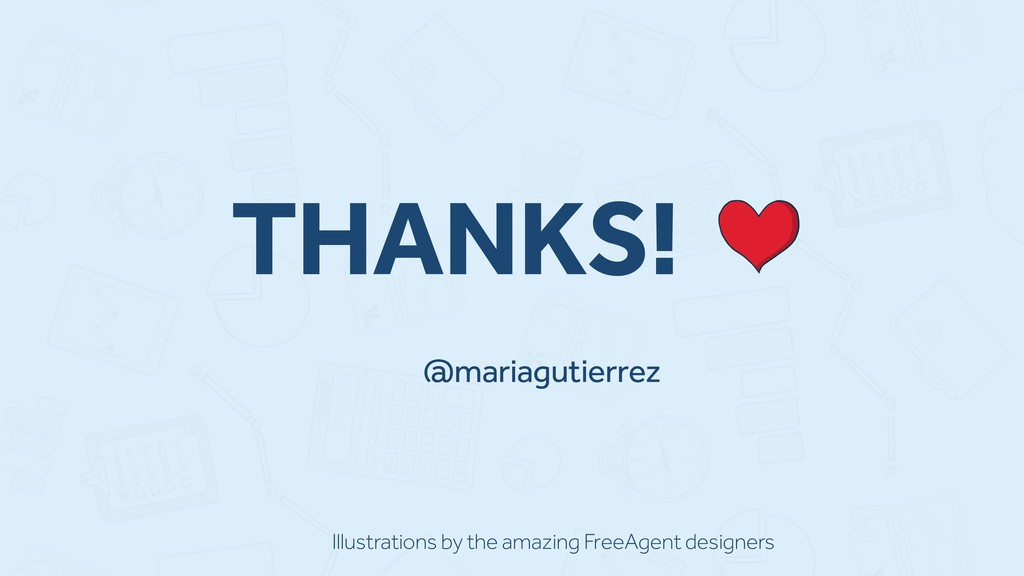 @mariagutierrez THANKS! Illustrations by the am...