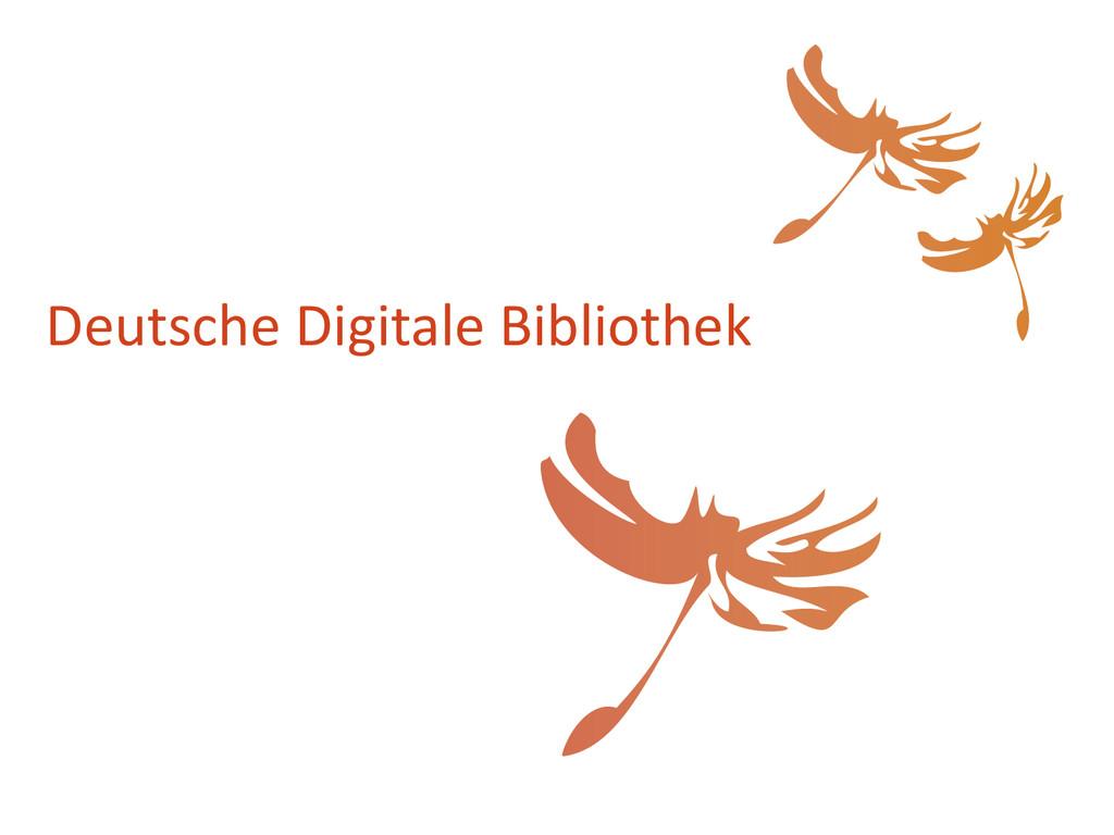 Deutsche Digitale Bibliothek