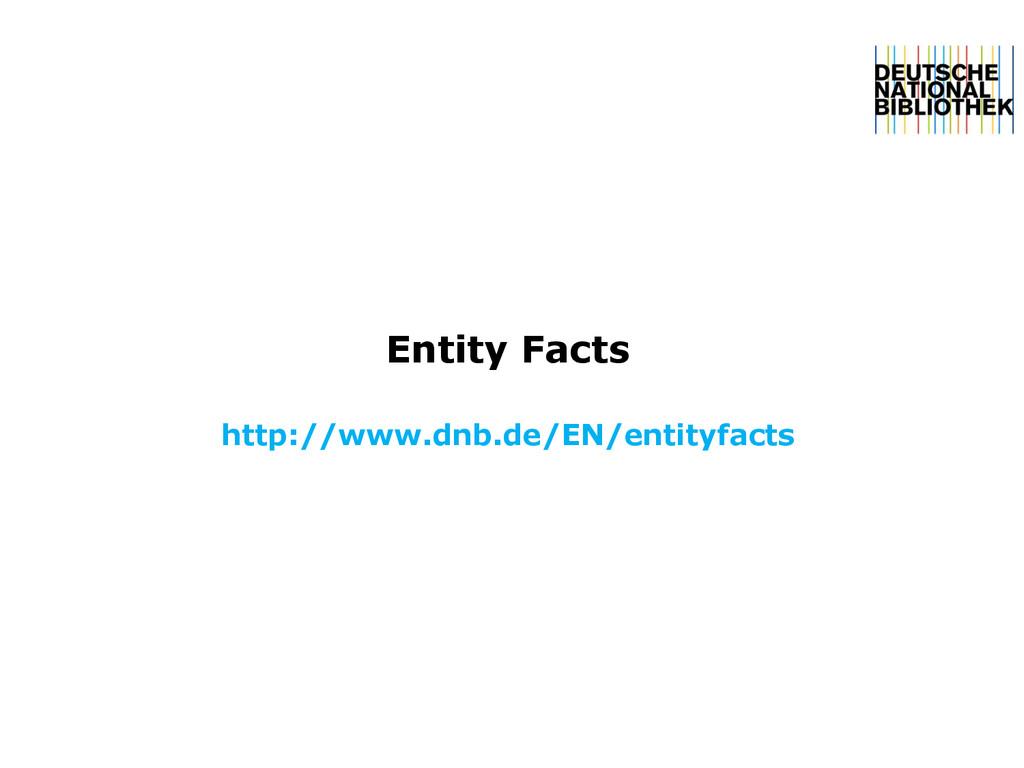 Entity Facts http://www.dnb.de/EN/entityfacts