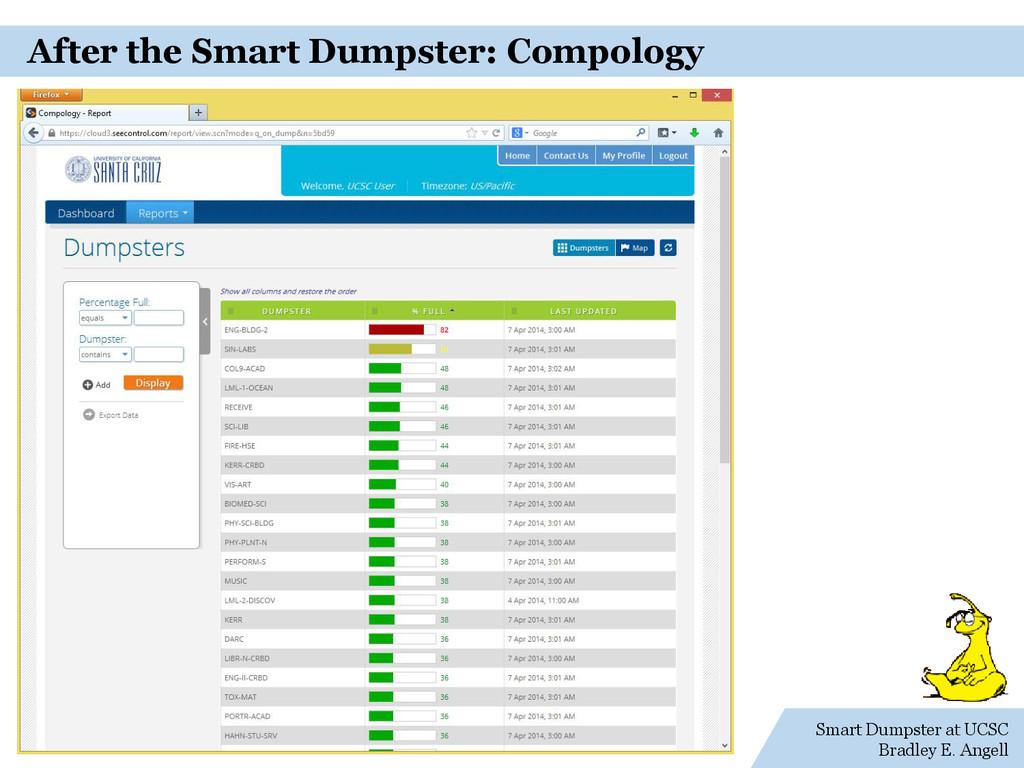 Smart Dumpster at UCSC Bradley E. Angell After ...