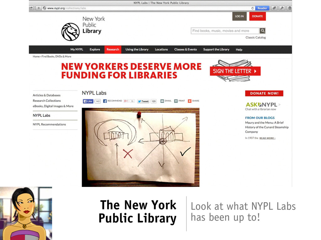 The New York Public Library Look at what NYPL L...