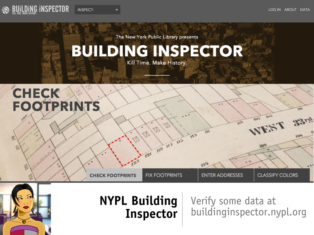 NYPL Building Inspector Verify some data at bui...