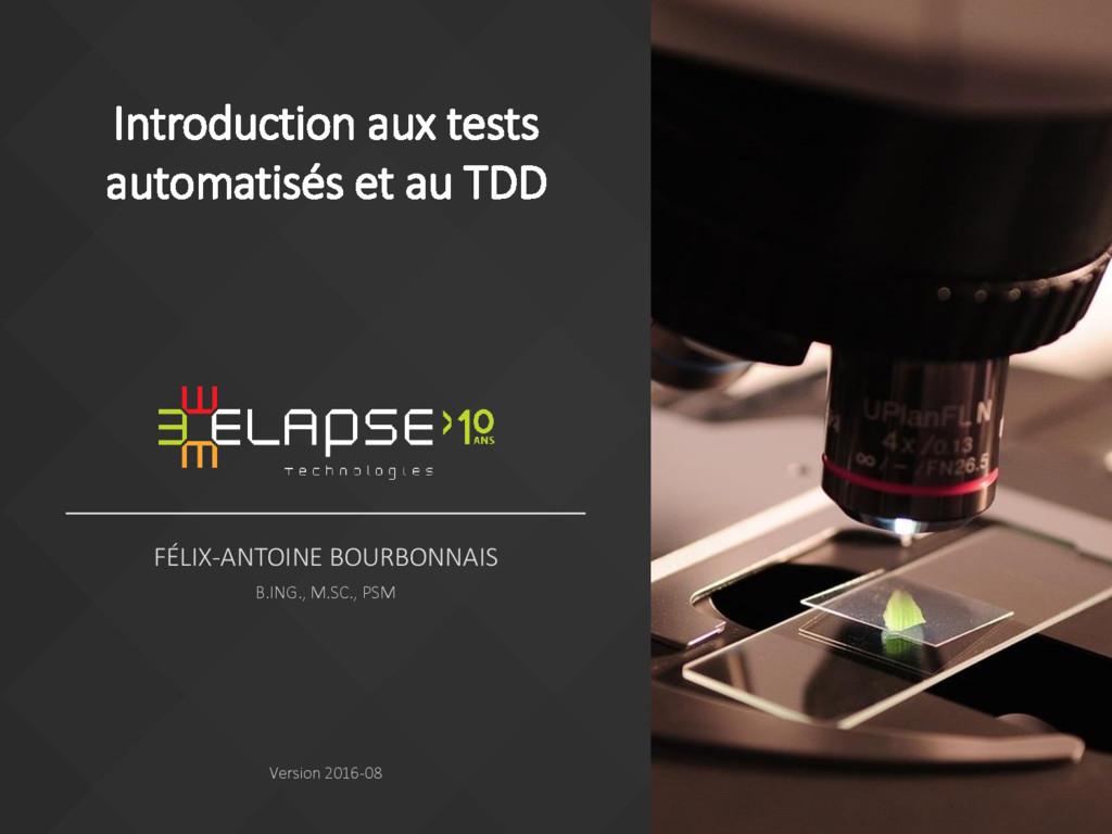 FÉLIX-ANTOINE BOURBONNAIS B.ING., M.SC., PSM Ve...