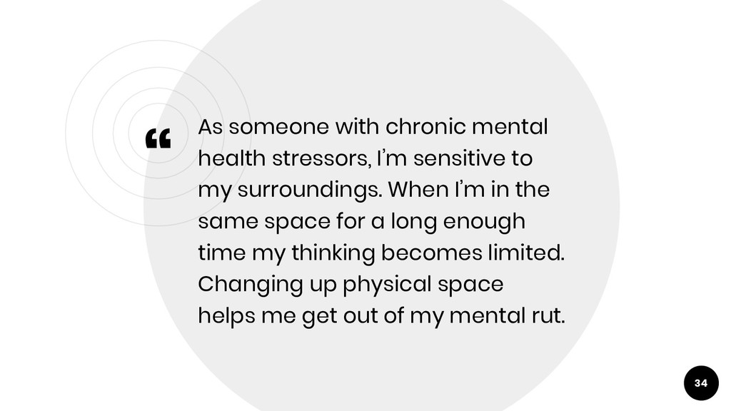 """"""" As someone with chronic mental health stresso..."""