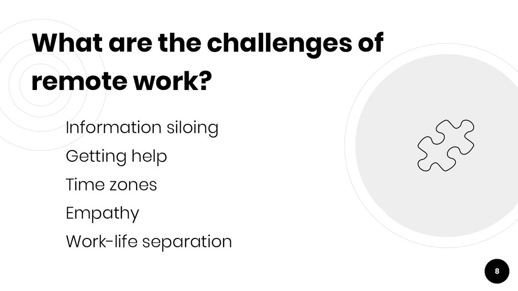 What are the challenges of remote work? Informa...