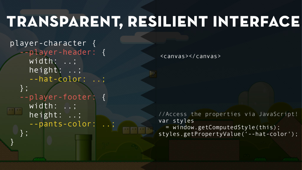 transparent, resilient interface //Access the p...