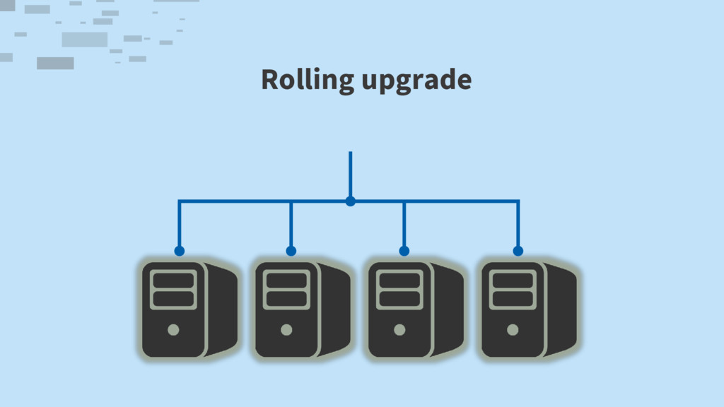 Rolling upgrade