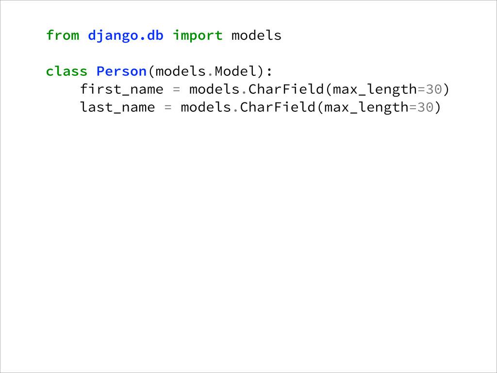 from django.db import models ! class Person(mod...