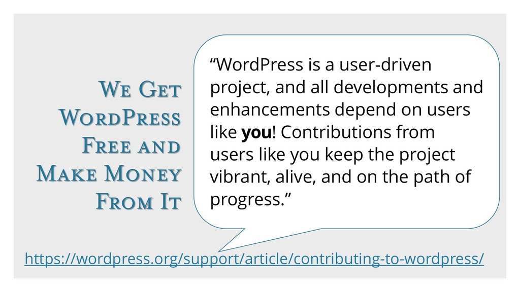 "We Get WordPress Free and Make Money From It ""W..."
