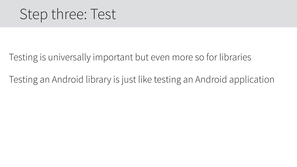 Testing is universally important but even more ...