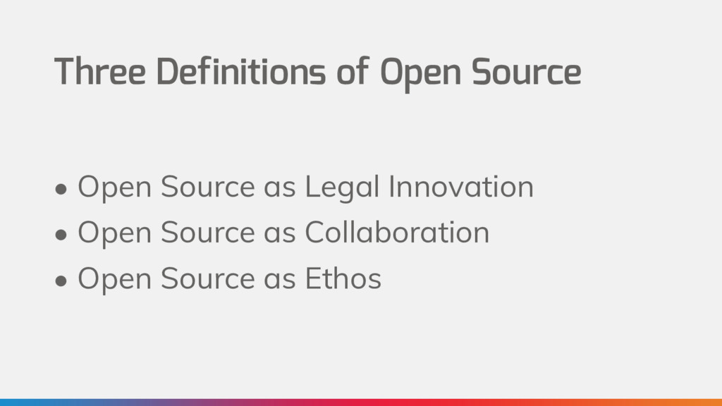 Three Definitions of Open Source • Open Source ...