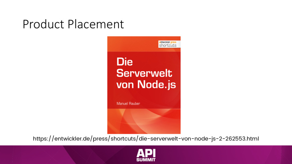 Product Placement https://entwickler.de/press/s...