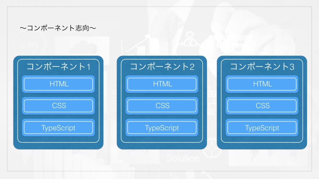 Collection ʙίϯϙʔωϯτࢤʙ ίϯϙʔωϯτ1 HTML CSS TypeSc...