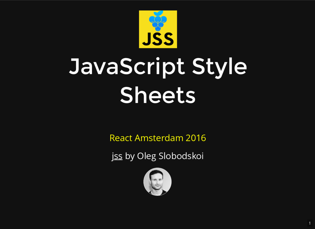 1 JavaScript Style JavaScript Style Sheets Shee...