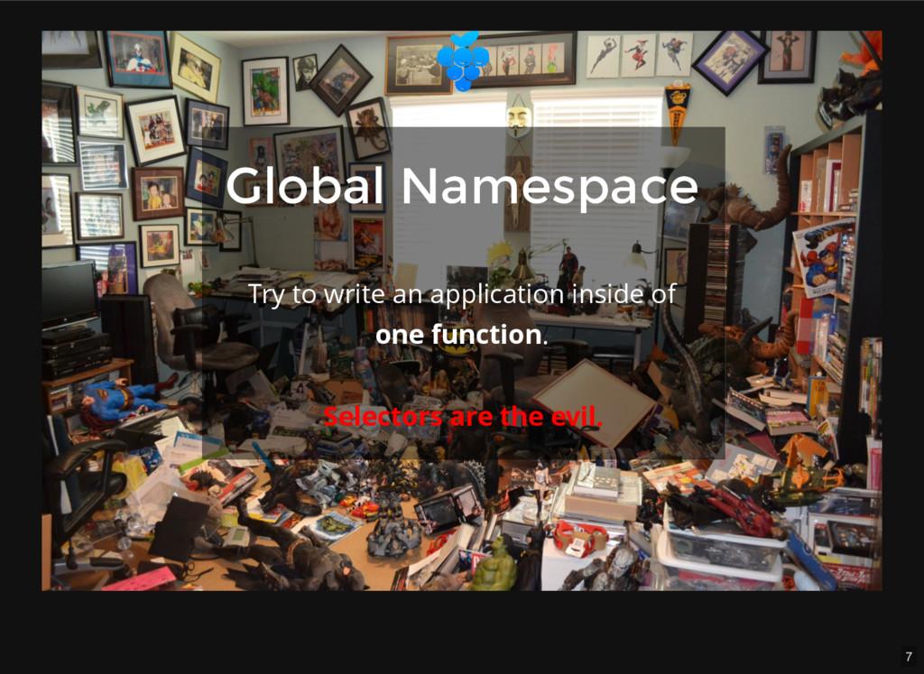 7 Global Namespace Global Namespace Selectors a...