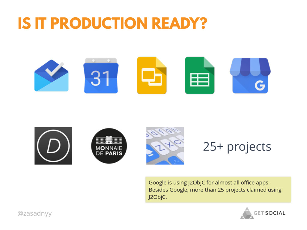 @zasadnyy IS IT PRODUCTION READY? 25+ projects ...