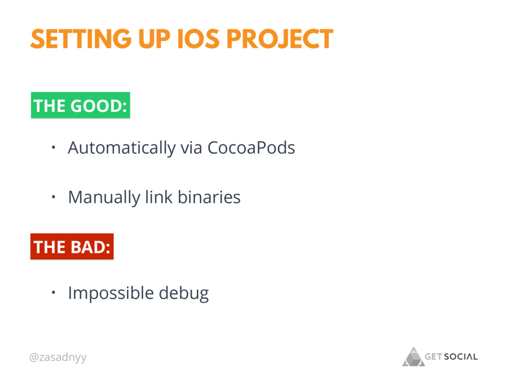 @zasadnyy SETTING UP IOS PROJECT • Automaticall...