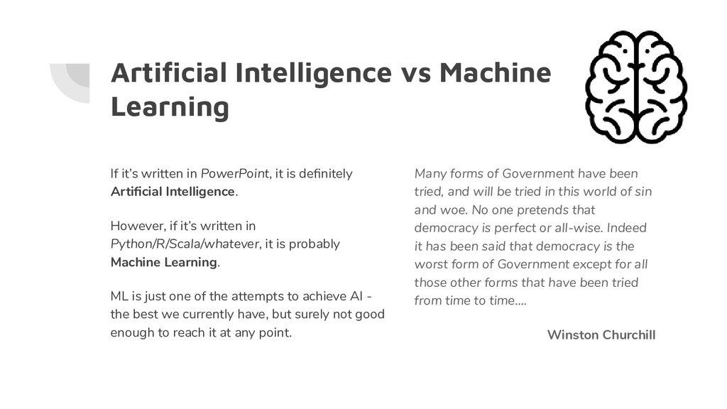 Artificial Intelligence vs Machine Learning If i...