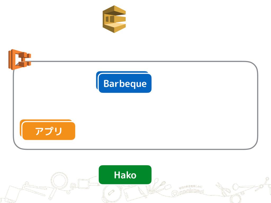 アプリ Barbeque Barbeque アプリ Hako