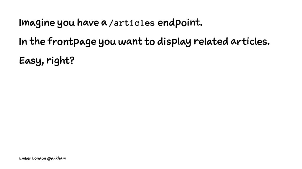 Imagine you have a /articles endpoint. In the f...