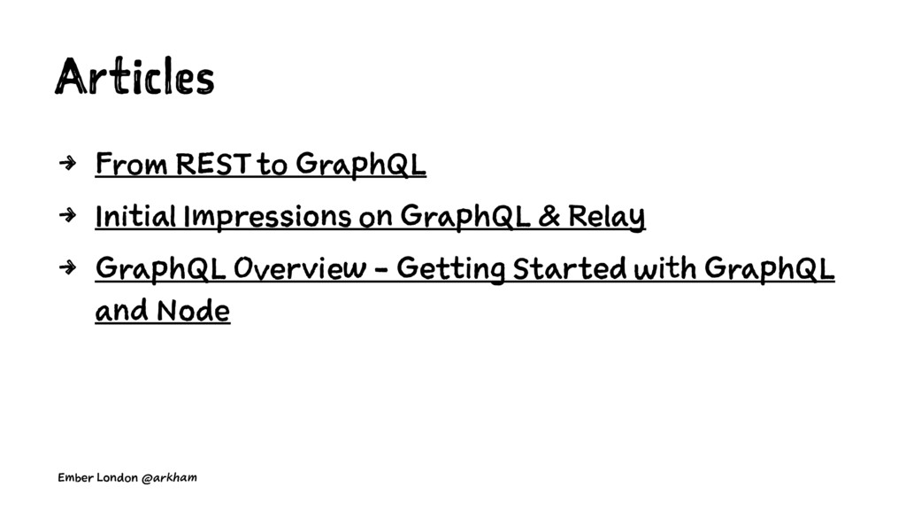 Articles 4 From REST to GraphQL 4 Initial Impre...