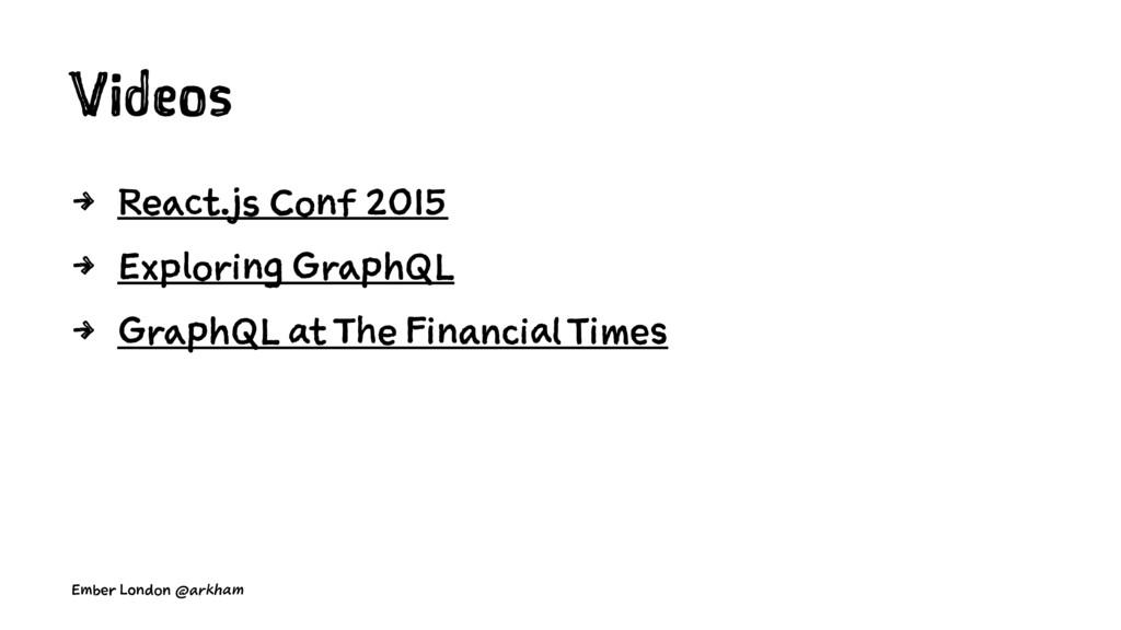 Videos 4 React.js Conf 2015 4 Exploring GraphQL...