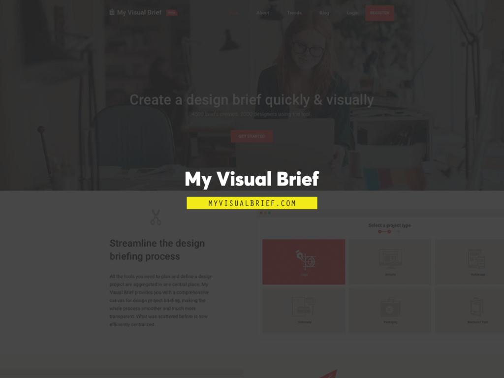 My Visual Brief MYVISUALBRIEF.COM