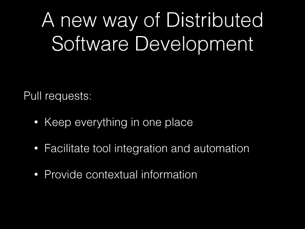 A new way of Distributed Software Development P...