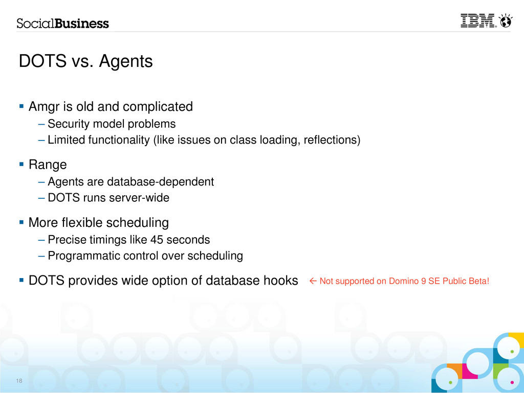 DOTS vs. Agents Amgr is old and complicated – S...