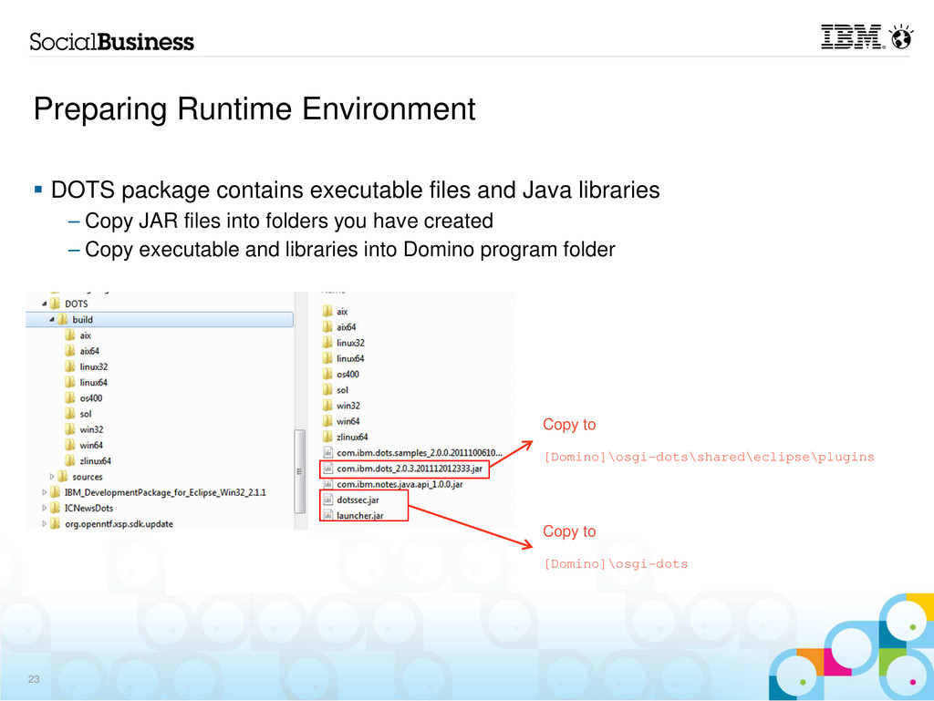 Preparing Runtime Environment 23 DOTS package c...