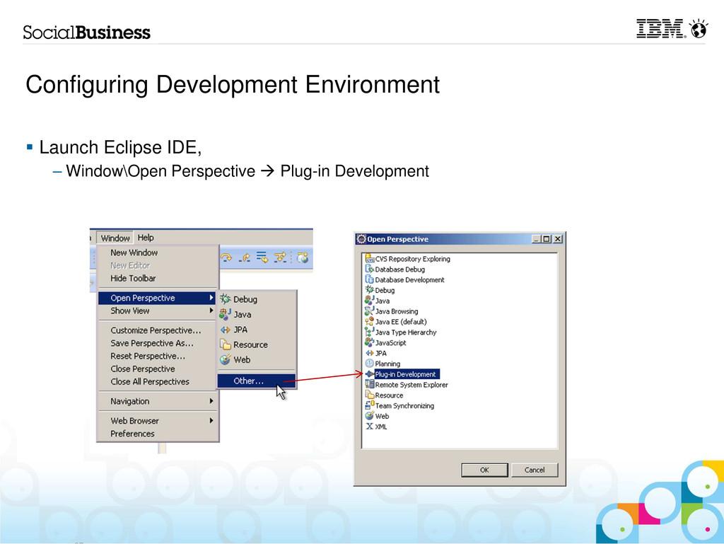 Configuring Development Environment Launch Ecli...