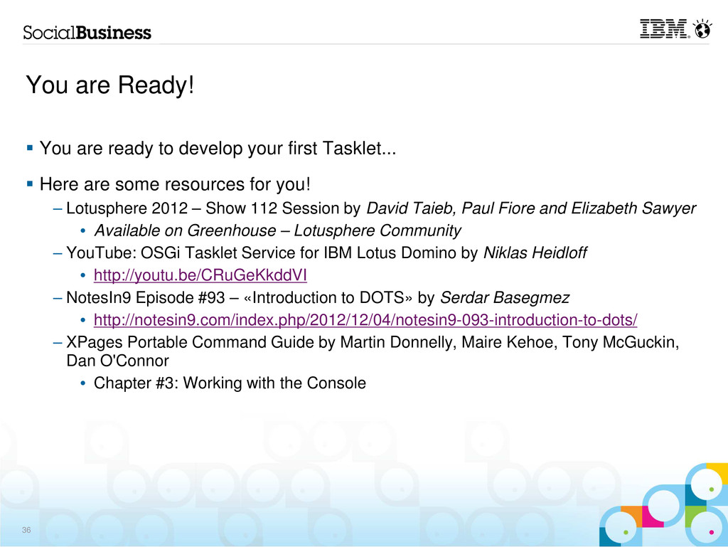 You are Ready! You are ready to develop your fi...