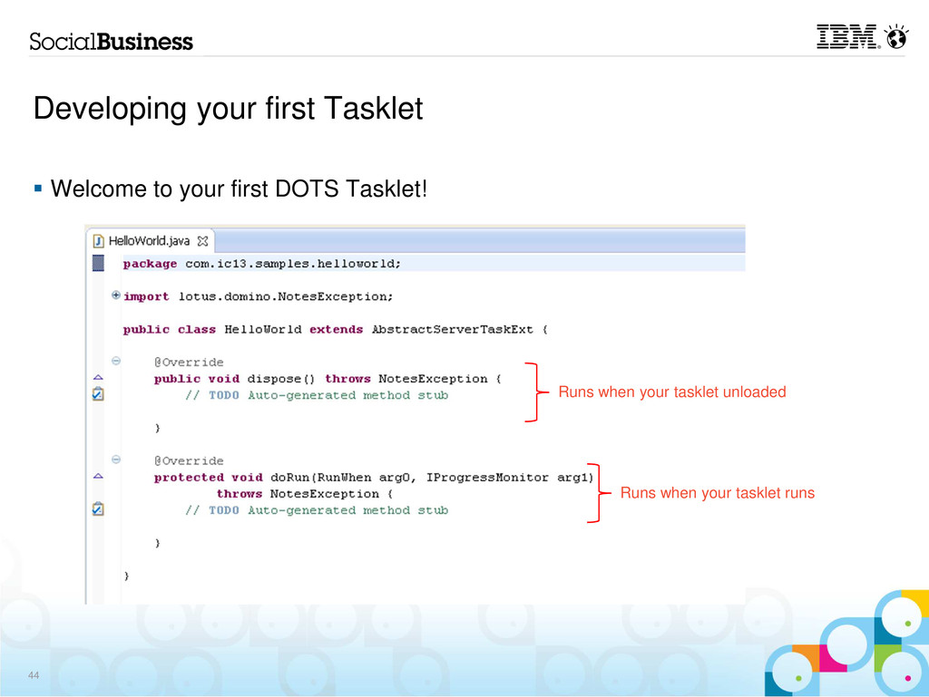 Developing your first Tasklet Welcome to your f...