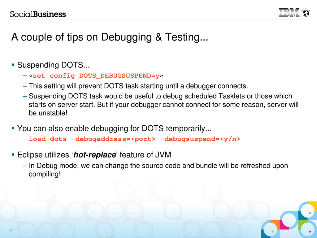 A couple of tips on Debugging & Testing... Susp...