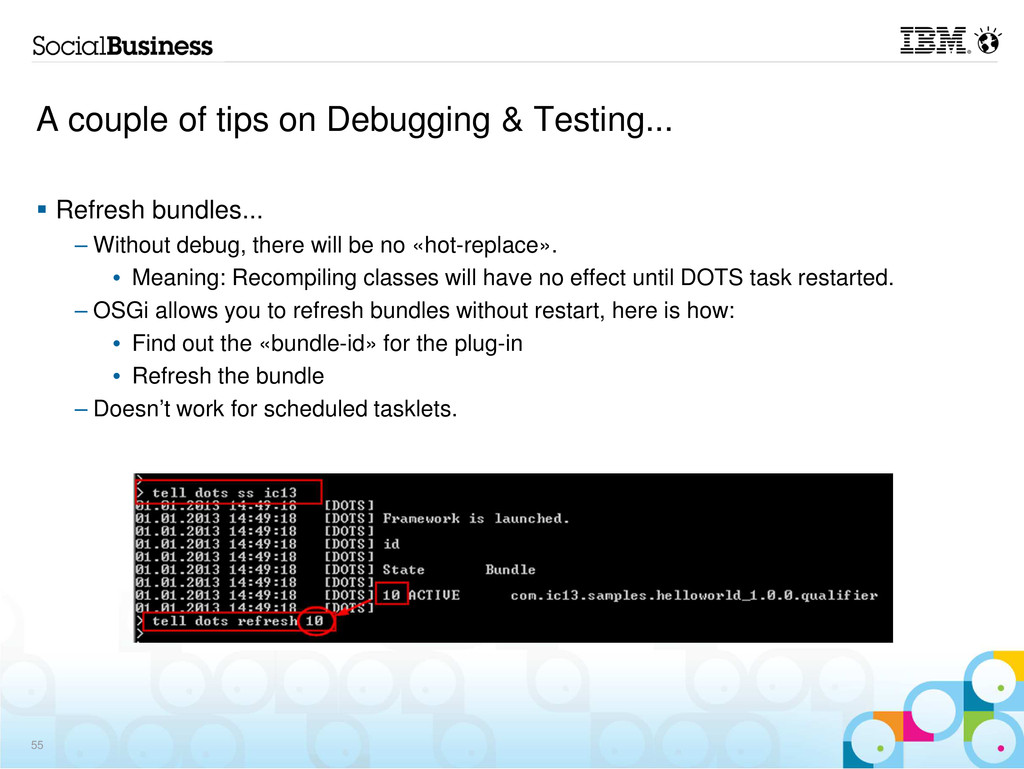 A couple of tips on Debugging & Testing... Refr...