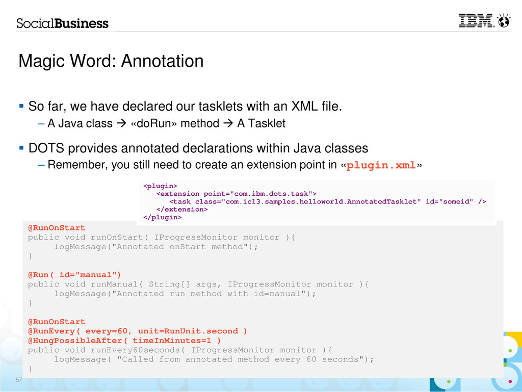 Magic Word: Annotation So far, we have declared...
