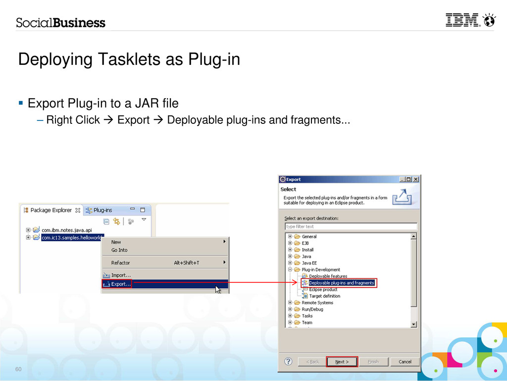 Export Plug-in to a JAR file – Right Click Expo...