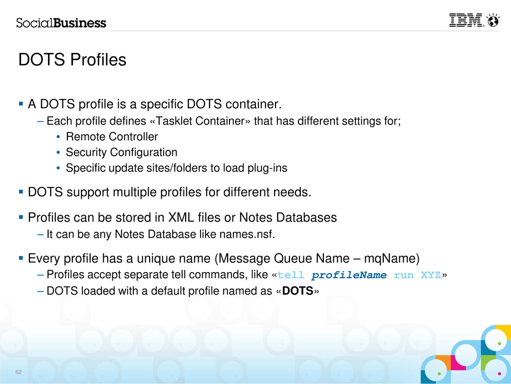 DOTS Profiles A DOTS profile is a specific DOTS...
